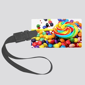Candies Large Luggage Tag