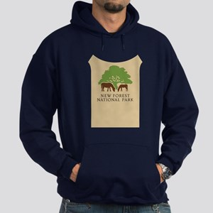 New Forest National Park, UK Hoodie (dark)