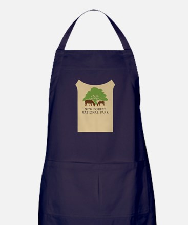 New Forest National Park, UK Apron (dark)