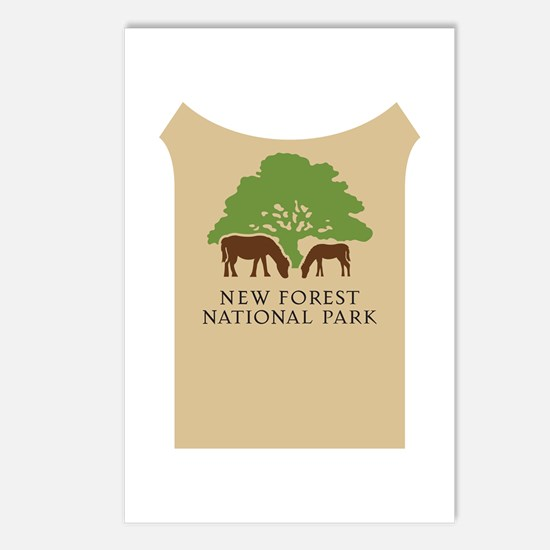 New Forest National Park, Postcards (Package of 8)