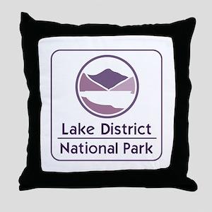 Lake District National Park, UK Throw Pillow