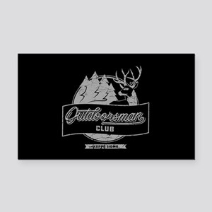 Kappa Sigma Outdoorsman Rectangle Car Magnet