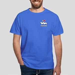I love my wieners Dark T-Shirt