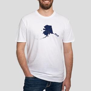 Alaska State Flag Vintage Outline T-Shirt
