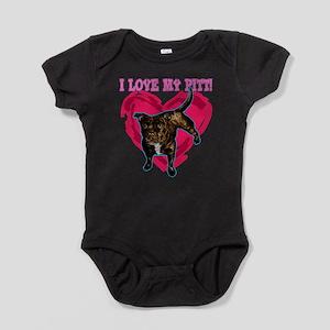 love my pitt Infant Bodysuit Body Suit