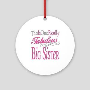 Big Sister Ornament (Round)