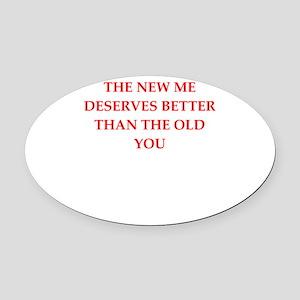divorce Oval Car Magnet