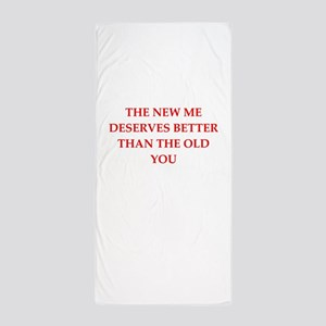 divorce Beach Towel