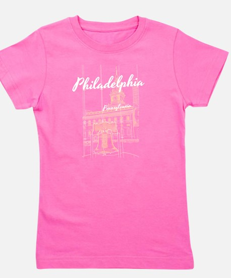 Cute Independence hall Girl's Tee