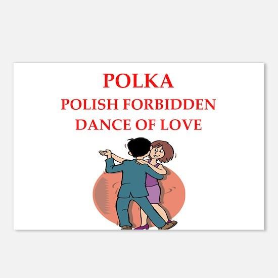 polka Postcards (Package of 8)