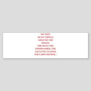 mcp joke Bumper Sticker