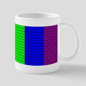 RAINBOW PRIDE BRICK STRIPES2 Mug