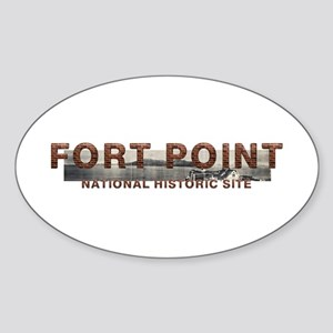 ABH Fort Point Sticker (Oval)