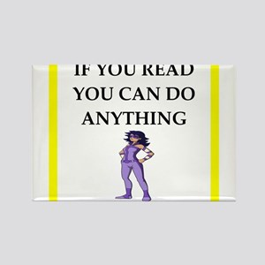 reading joke Magnets