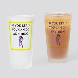 reading joke Drinking Glass