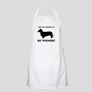 Are you looking at my wiener? BBQ Apron