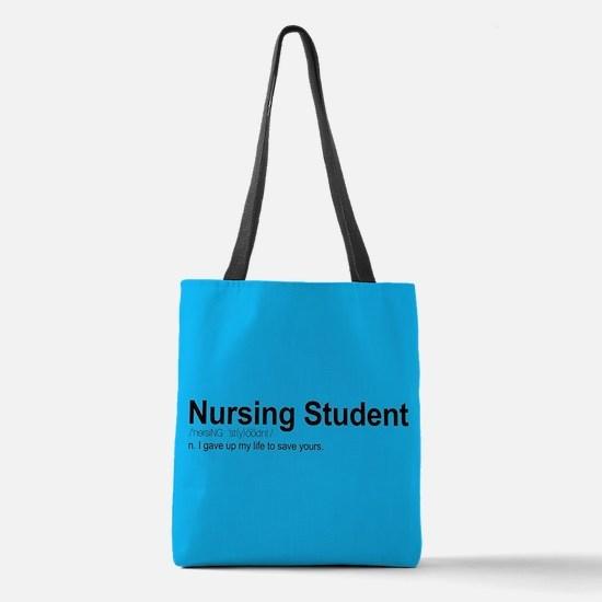 Nursing Student Definition Polyester Tote Bag