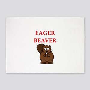 eager beaver 5'x7'Area Rug