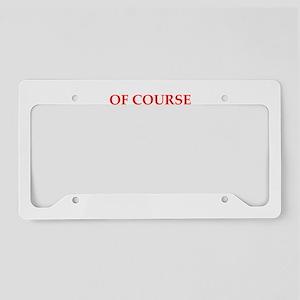 heart License Plate Holder