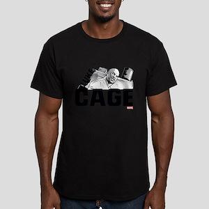 Luke Cage Smile Men's Fitted T-Shirt (dark)