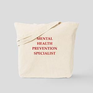 mental health Tote Bag