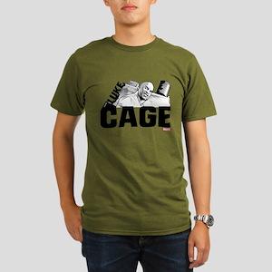 Luke Cage Smile Organic Men's T-Shirt (dark)