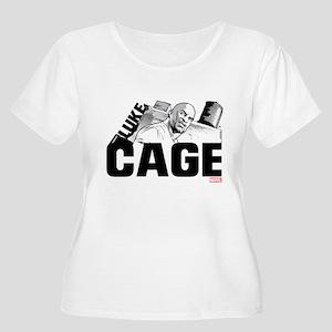 Luke Cage Smi Women's Plus Size Scoop Neck T-Shirt