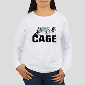 Luke Cage Smile Women's Long Sleeve T-Shirt