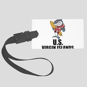 U.S. Virgin Islands Luggage Tag