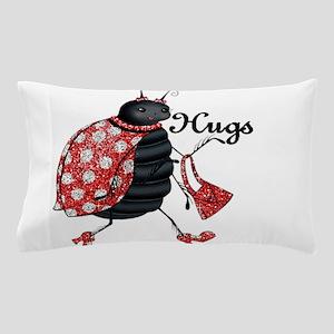 Ladybug Hugs Pillow Case