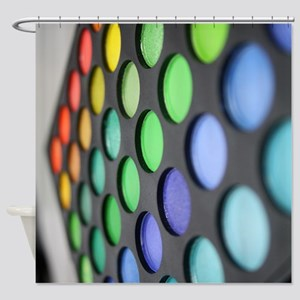 Eyeshadow Shower Curtain