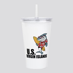 U.S. Virgin Islands Acrylic Double-wall Tumbler