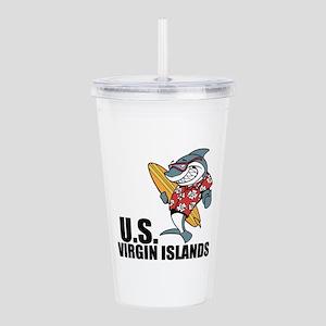U.S. Virgin Islands Acrylic Double-wall Tumbler