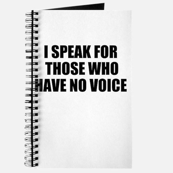 I SPEAK Journal