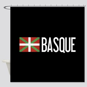 Basque Country: Basque Flag & Basqu Shower Curtain