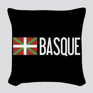 Basque Country: Basque Flag & Woven Throw Pillow
