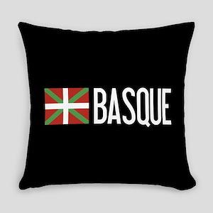 Basque Country: Basque Flag & Basq Everyday Pillow