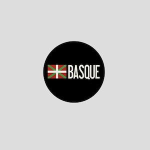 Basque Country: Basque Flag & Basque Mini Button