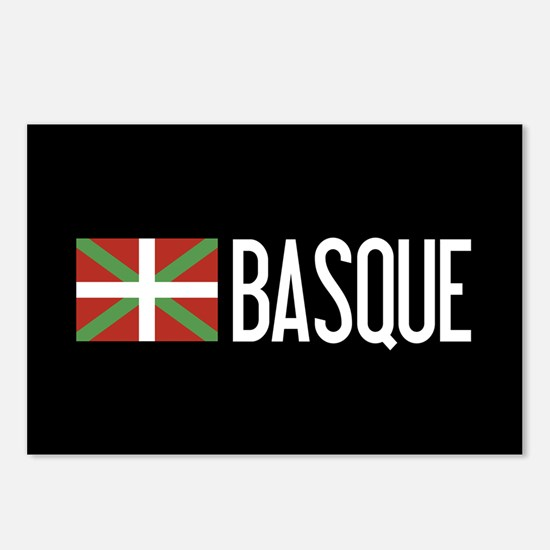 Basque Country: Basque Fl Postcards (Package of 8)