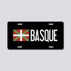 Basque Country: Basque Flag Aluminum License Plate