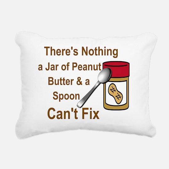 Cute Butter Rectangular Canvas Pillow