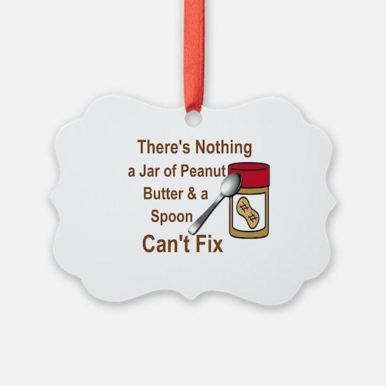 Cute Peanut butter Ornament