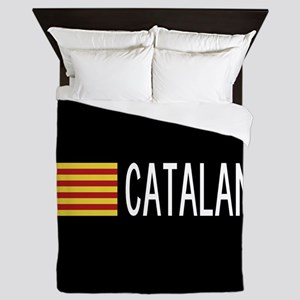 Catalunya: Catalan Flag & Catalan Queen Duvet