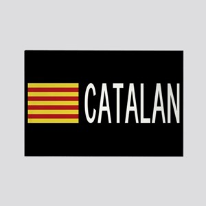 Catalunya: Catalan Flag & Catalan Rectangle Magnet