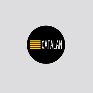 Catalunya: Catalan Flag & Catalan Mini Button