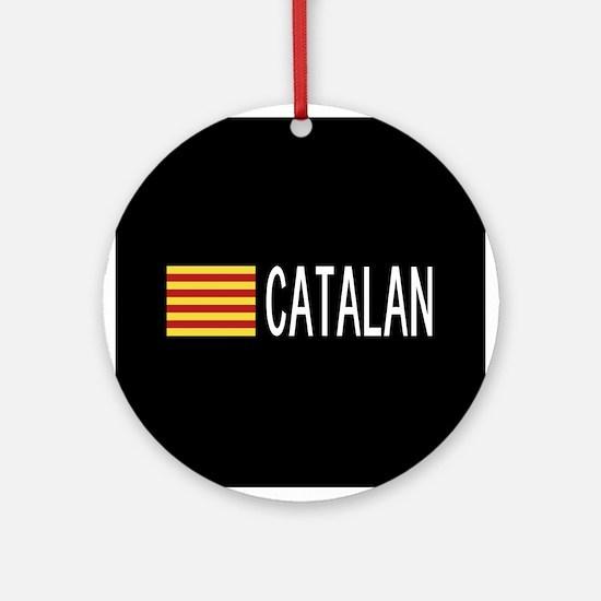 Catalunya: Catalan Flag & Catalan Round Ornament