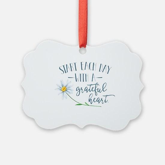 Unique Grateful Ornament