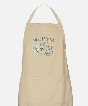 Start Each Day With a Grateful Heart Apron