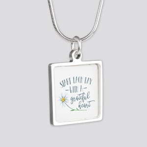 Start Each Day With a Grateful Heart Necklaces