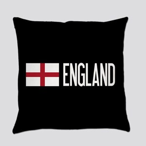 England: English Flag & England Everyday Pillow